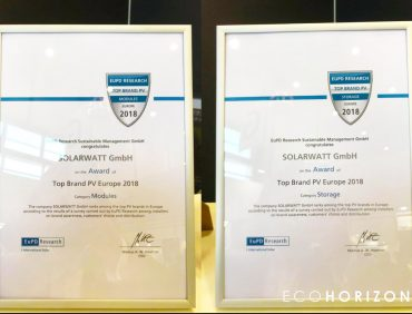 Solarwatt panels win Top Brand PV Storage 2018