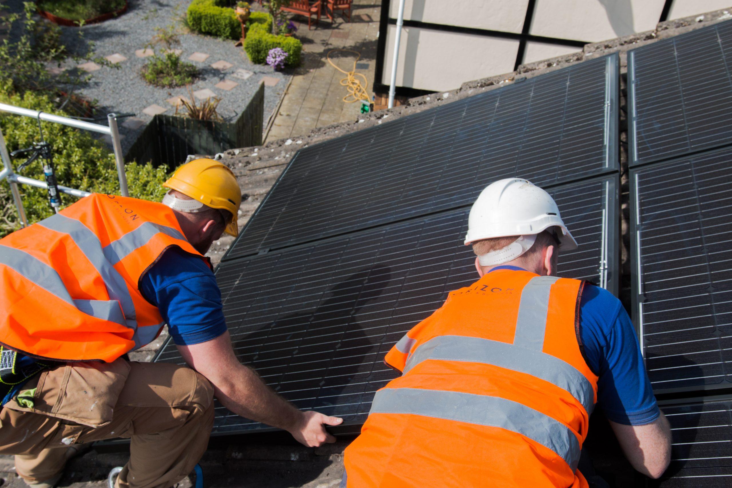 Installiing Solar Panels